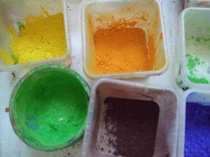 Gestalten für Kinder, kreativer Umgang mit Farben und unterschiedlichen Materialien
