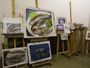 Dieser Kurs richtet sich an Teilnehmer/innen, die sich gerne einmal länger mit Malerei beschäftigen möchten.