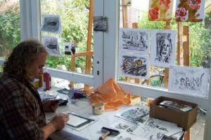 Malen Zeichnen Skizzieren lernen, Akademie Elena Kühn, Altes Land