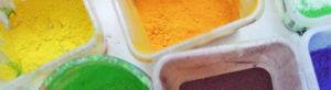 Malen lernen, kreativer Umgang mit Farben und unterschiedlichen Materialien