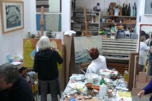 Akademie von Elena-Florentine Kühn, Malen lernen