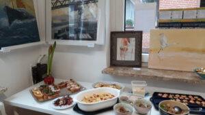 Einweihung Akademie Kühn, Kurse, Wochenendkurse, Malen, Zeichnen, Skizzieren
